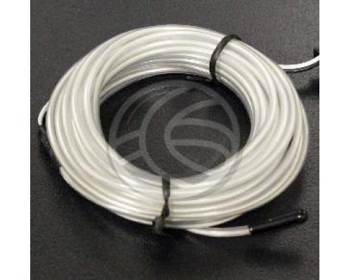CABLE ELECTROLUMINISCENTE TRANSPARENTE-BLANCO DE 2.3MM EN BO