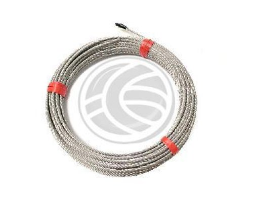 CABLE DE ACERO INOXIDABLE DE 4.0MM 10M