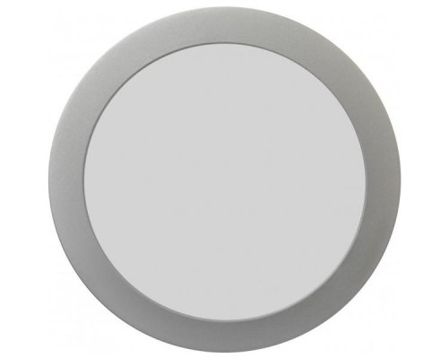 DOWNLIGHT LED PLATA CIRCULAR 18W LUZ CALIDA IGLUX