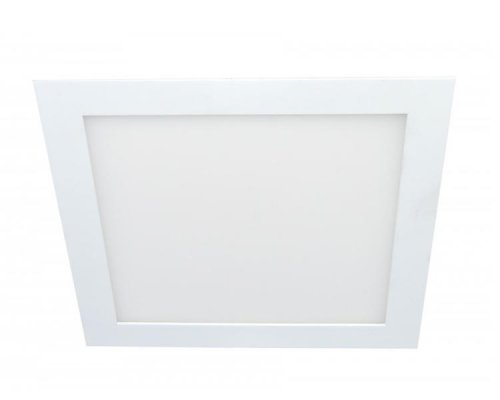 DOWNLIGHT LED BLANCO CUADRADO 18W LUZ FRIA IGLUX