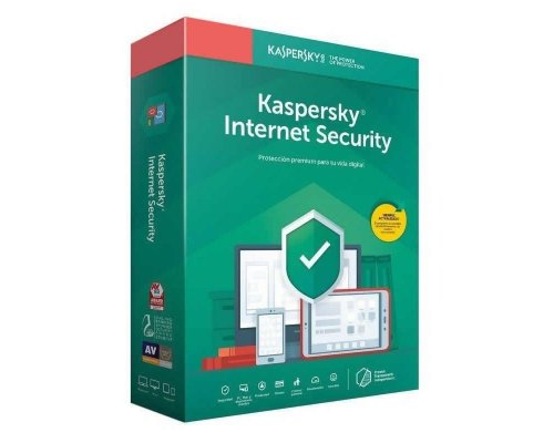 ANTIVIRUS KASPERSKY INTERNET SECURITY 2020 2LICENCIAS 1AÑO
