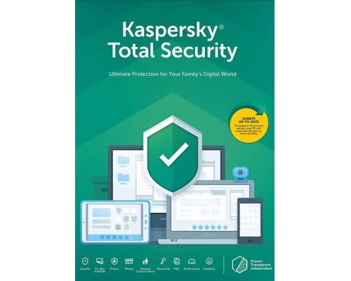 ANTIVIRUS KASPERSKY TOTAL SECURITY 2020 1LICENCIA 1AÑO