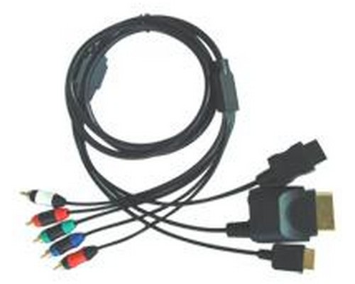 CABLE COMPONENTES PS2/PS3/Wii/XBOX360