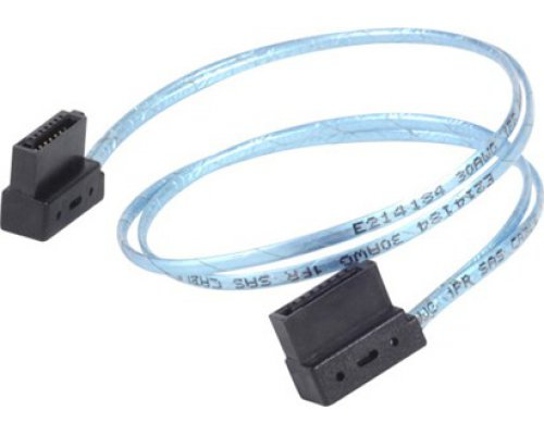 CABLE SATA3 SILVERSTONE CP11 ULTRA-SLIM 6Gb/s 30cm