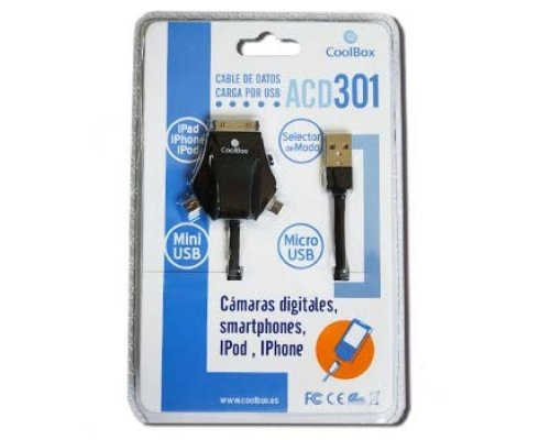 CABLE USB COOLBOX ACD301