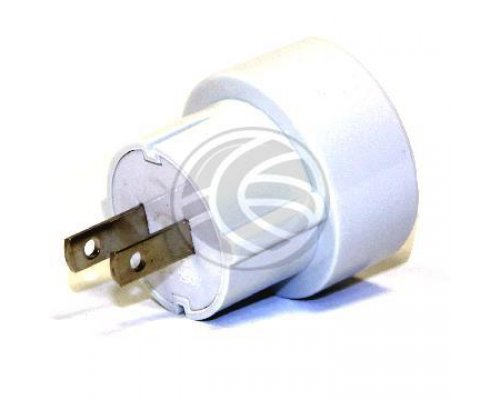 ADAPTADOR SCHUKO A ENCHUFE PLANO US