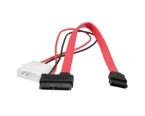 ADAPTADOR SATA SLIM (POWER+DATOS) A MOLEX 5.25 Y SATA ESTÁND