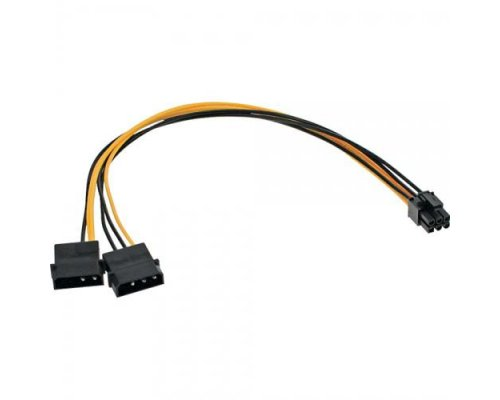 "INLINE 26628. ADAPTADOR 2 X 5.25"" A 6PIN PCI-EXPRESS"