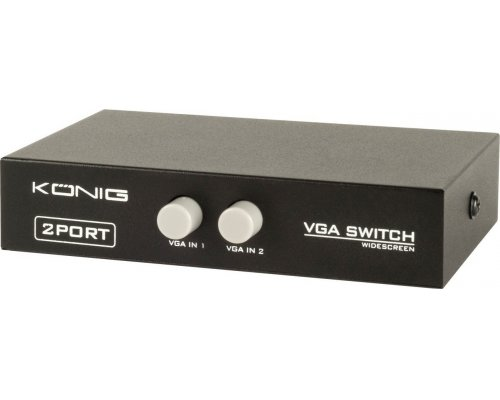 CONMUTADOR MANUAL VGA KONIG CMP-SWITCH51
