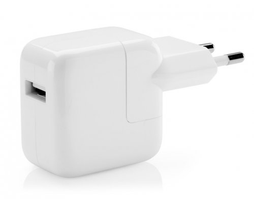 ADAPTADOR CORRIENTE USB 12W APPLE iPAD/iPHONE/iPOD