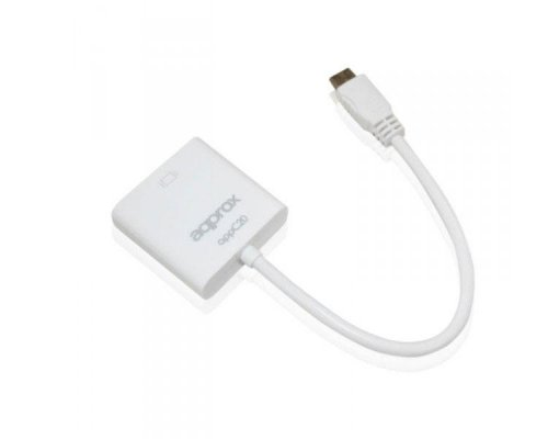 ADAPTADOR MINI HDMI A VGA APPROX