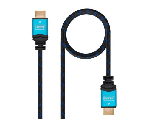 CABLE HDMI V2.0 4K BLACK 2M NANOCABLE
