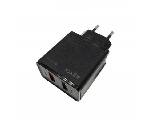 CARGADOR USB APPROX USBWALLQC QUICK CHARGE 3.0