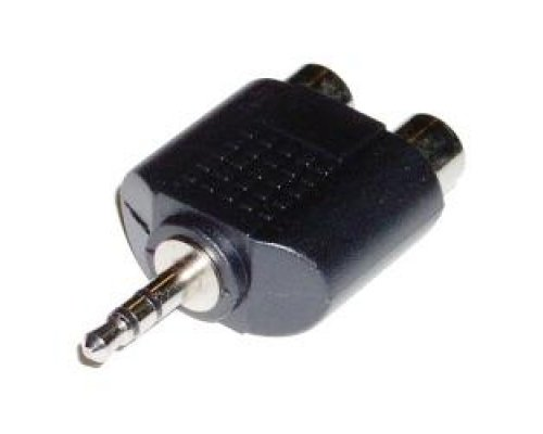 ADAPTADOR AUDIO ESTÉREO (JACK-3.5MM-M / 2 X RCA-H)