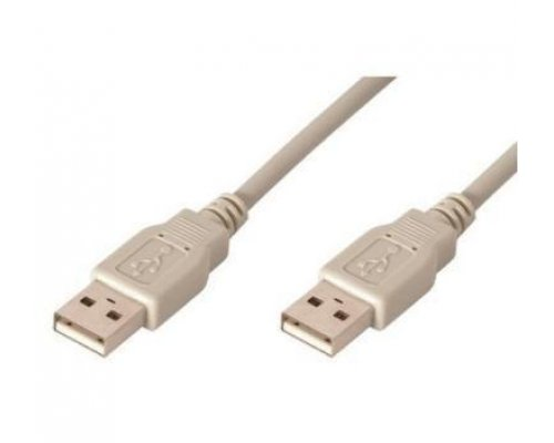 CABLE USB 2.0 (AM/AM) 2m