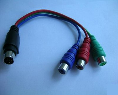 CABLE S-VIDEO 7pin/RGB RCA