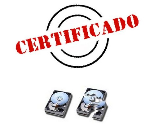 CERTIFICADO DE DESTRUCCION DE DATOS