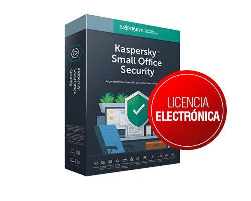 KASPERSKY SMALL OFFICE SECURITY 6.0 50Lic.+3 Server 3años