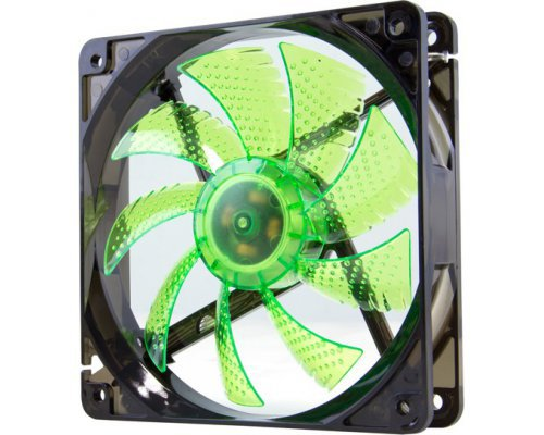 VENTILADOR 120mm NOX COOLFAN LED VERDE