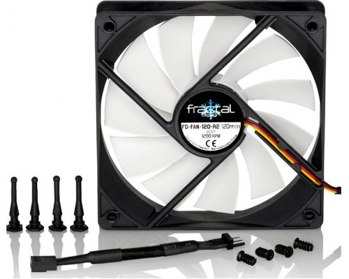VENTILADOR 120mm FRACTALDESIGN SILENT SERIES R2
