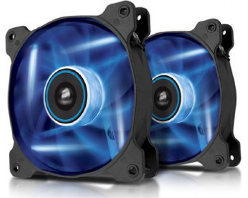 VENTILADOR 120mm CORSAIR AF120-LED AZUL DUAL PACK