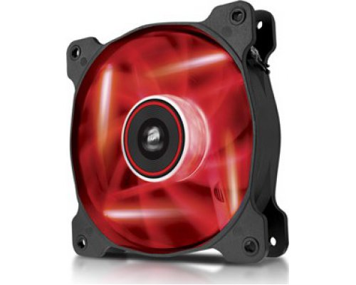 VENTILADOR 120mm CORSAIR AF120-LED ROJO SINGLE PACK