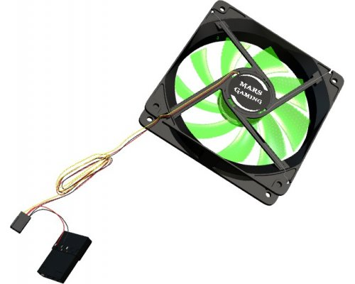 VENTILADOR 120mm TACENS MARS GAMING MF12 GREEN