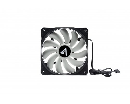 VENTILADOR 120mm ABYSM GAMING BREEZE WHITE PWM