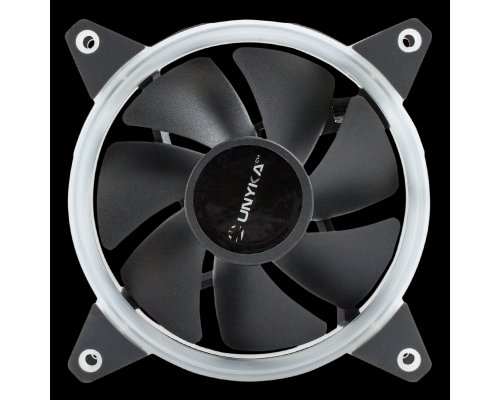 VENTILADOR 120mm UNYKA GAMING CANDY 20 RED