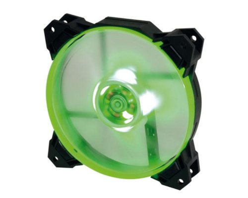 VENTILADOR AUXILIAR 120MM DEEPGAMING LED VERDE COOLBOX