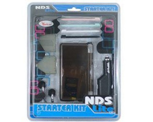PACK 10 ACCESORIOS NDS LITE STARTER KIT