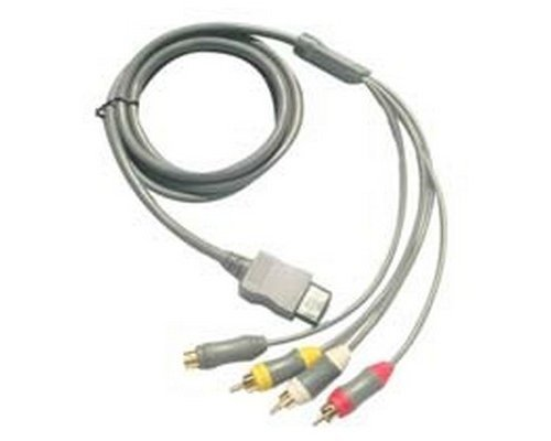 CABLE S-VIDEO AV NINTENDO WII