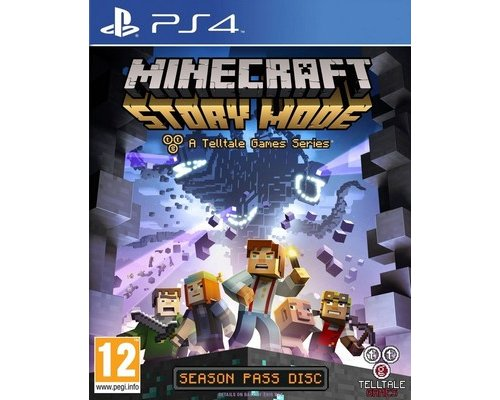 JUEGO PS4 MINECRAFT: STORY MODE