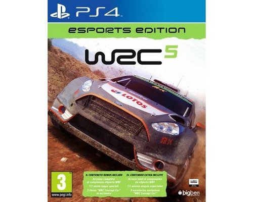 JUEGO PS4 WRC 5: e-SPORTS EDITION