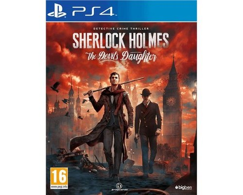 JUEGO PS4 SHERLOCK HOLMES: THE DEVIL´S DAUGHTER