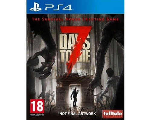 JUEGO PS4 7 DAYS TO DIE: THE SURVIVAL HORDE CRAFTING GAME