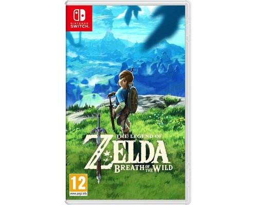 JUEGO LEGEND OF ZELDA: BREATH OF THE WILD (SWITCH)