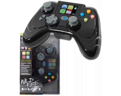 GAMEPAD 360 DATEL WILDFIRE EVO LCD INALÁMBRICO