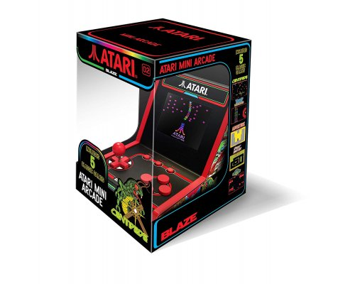 CONSOLA RETRO ATARI MINI ARCADE 5 GAME