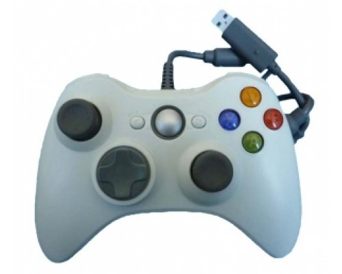 GAMEPAD XBOX360 COMPATIBLE USB BLANCO