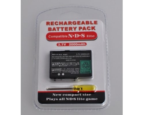 BATERIA NDS LITE ION LITIO RECARGABLE