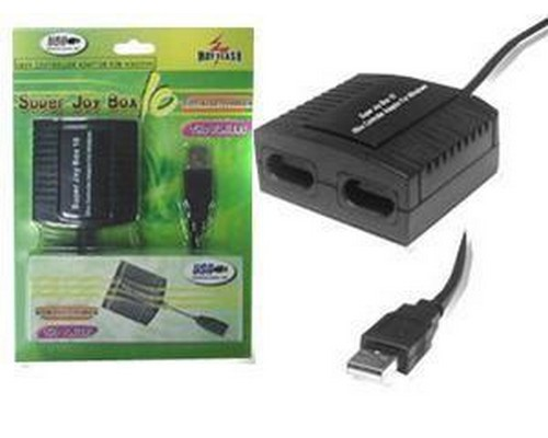 ADAPTADOR XBOX PC SUPER JOYBOX 10 2p