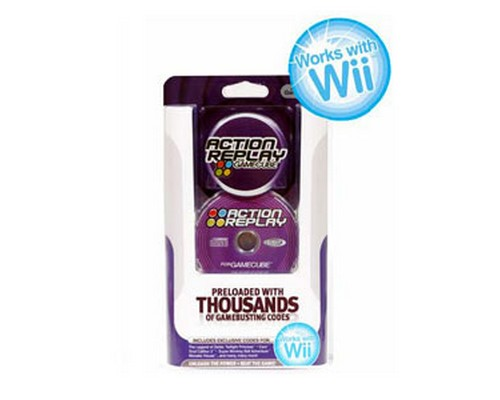 ACTION REPLAY DATEL Wii / GAMECUBE CHEAT CODES